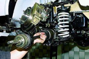 Ремонт ходовой части любой сложности Mitsubishi