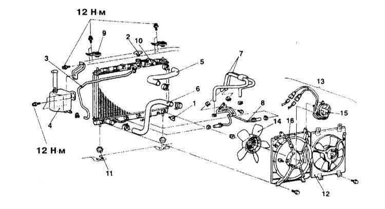Диагностика системы охлаждения Mitsubishi
