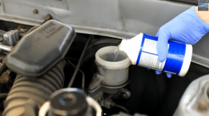Замена тормозной жидкости Mitsubishi